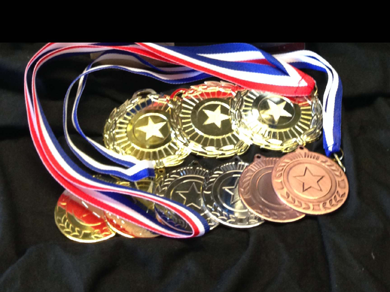 Star Medals - a fabulous token for schools, corporate or clubs.